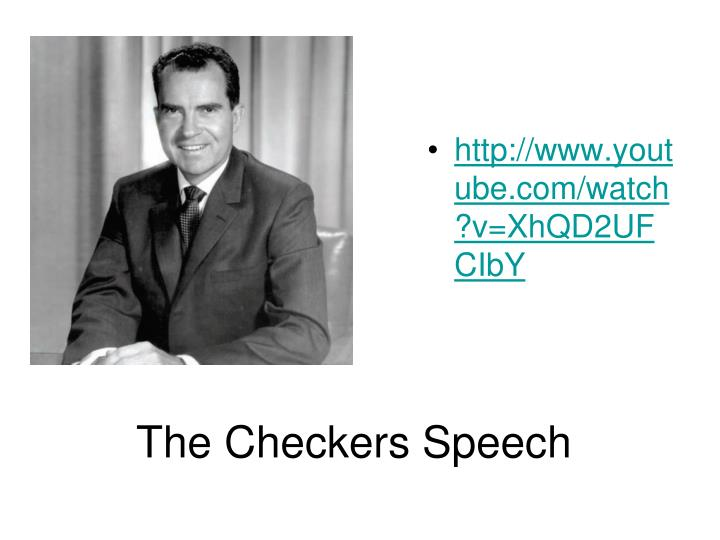 The Checkers Speech