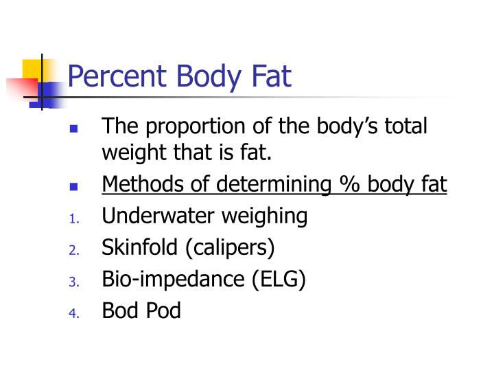 Percent Body Fat