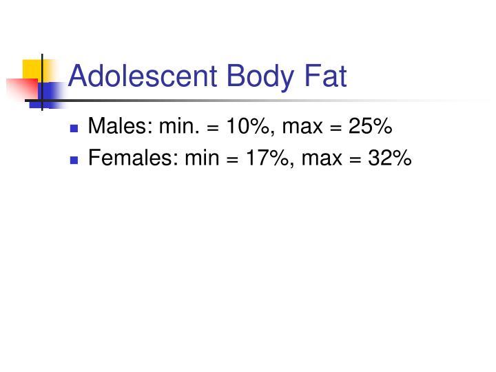 Adolescent Body Fat