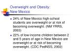 overweight and obesity new mexico1
