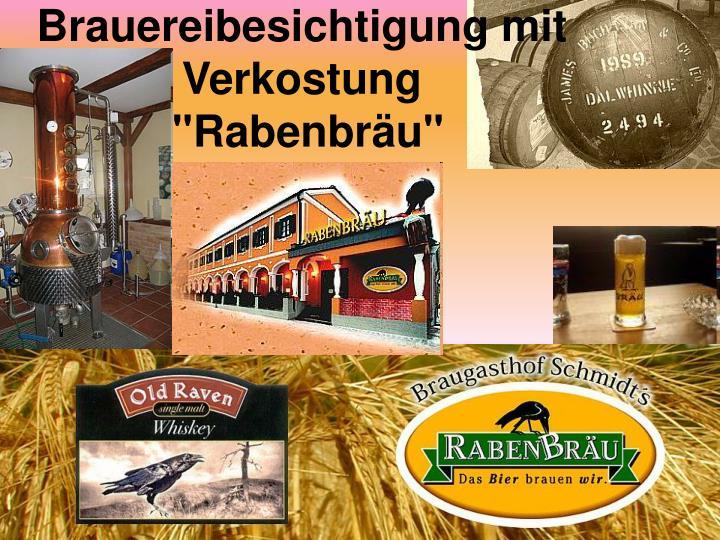 Brauereibesichtigung mit     Verkostung