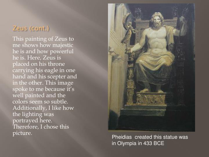 Zeus (cont.)
