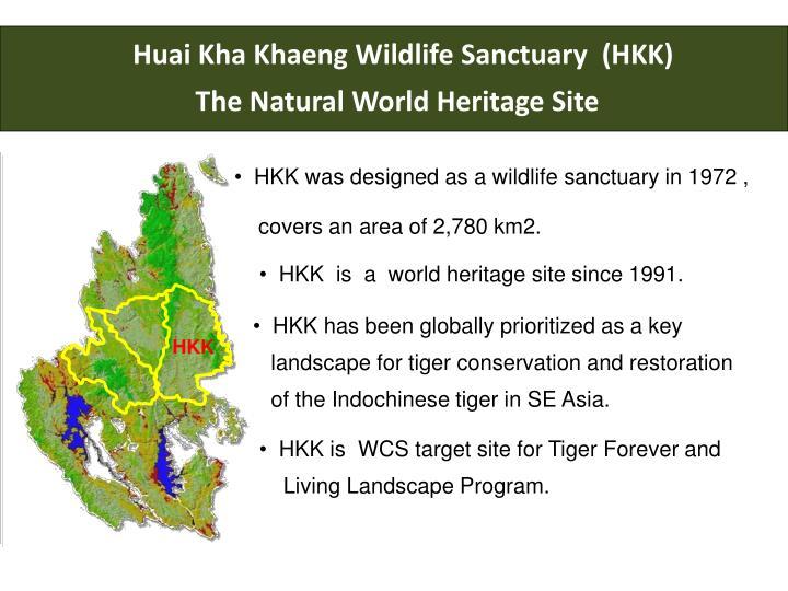 Huai Kha Khaeng Wildlife Sanctuary  (HKK)