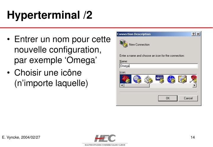 Hyperterminal /2