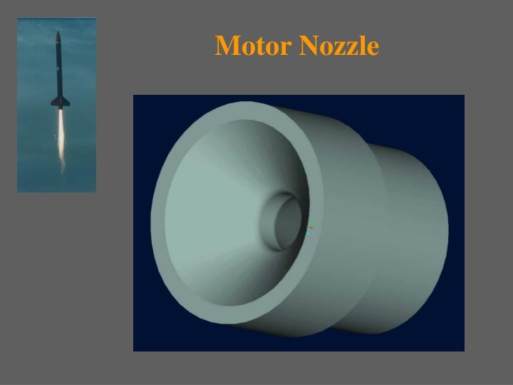 Motor Nozzle