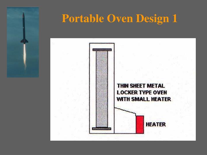 Portable Oven Design 1