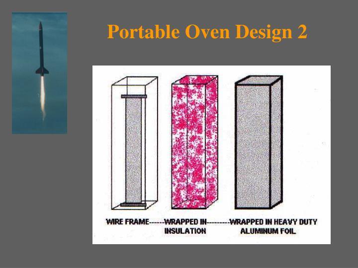 Portable Oven Design 2