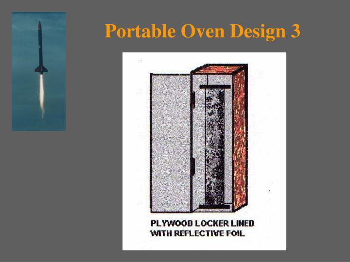 Portable Oven Design 3