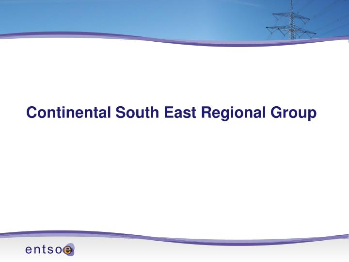 Continental South East Regional Group