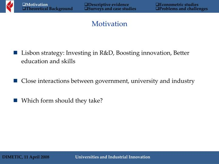 Lisbon strategy: Investing in R&D, Boosting innovation, Better education and skills