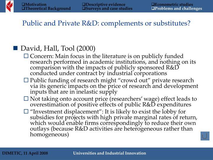 David, Hall, Tool (2000)