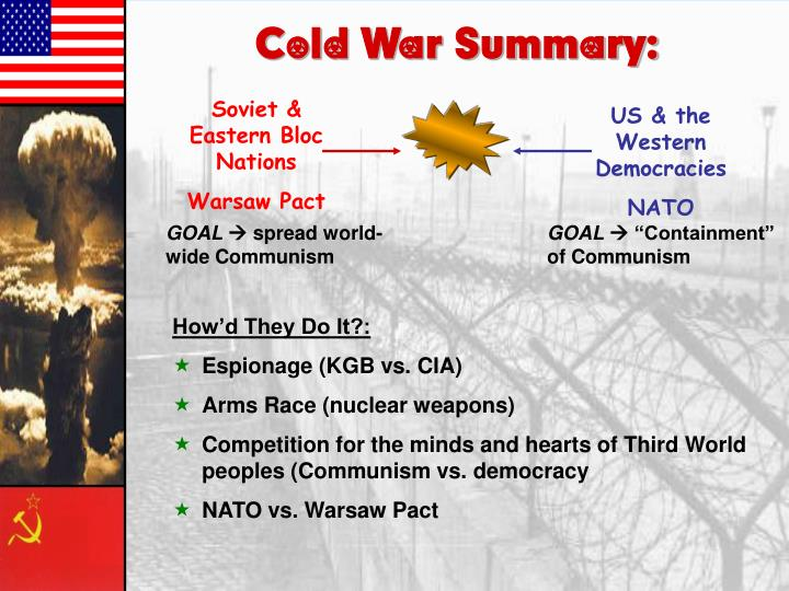Cold War Summary: