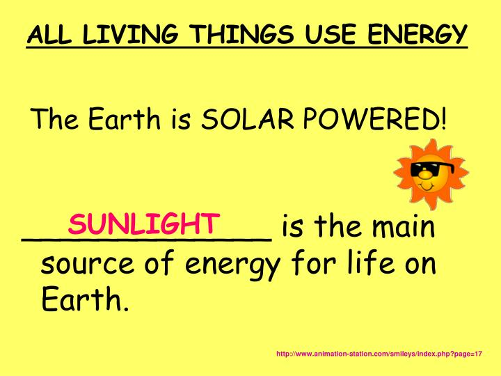 The Earth is SOLAR POWERED!