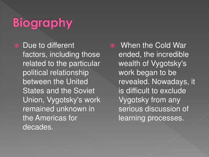 lev vygotsky biography study relationship of language and thought