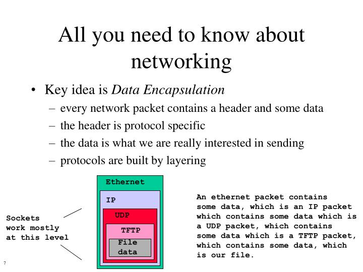 All you need to know about networking