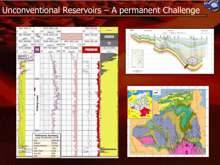 Unconventional Reservoirs – A permanent Challenge