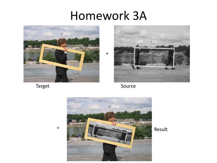 Homework 3A