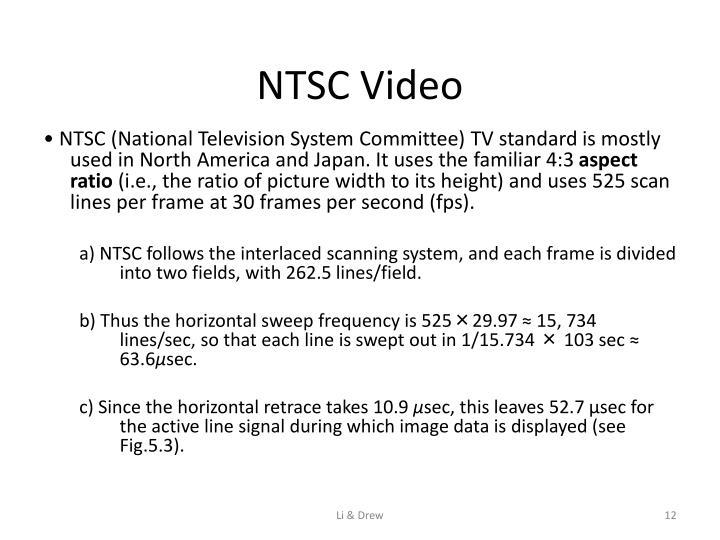 NTSC Video