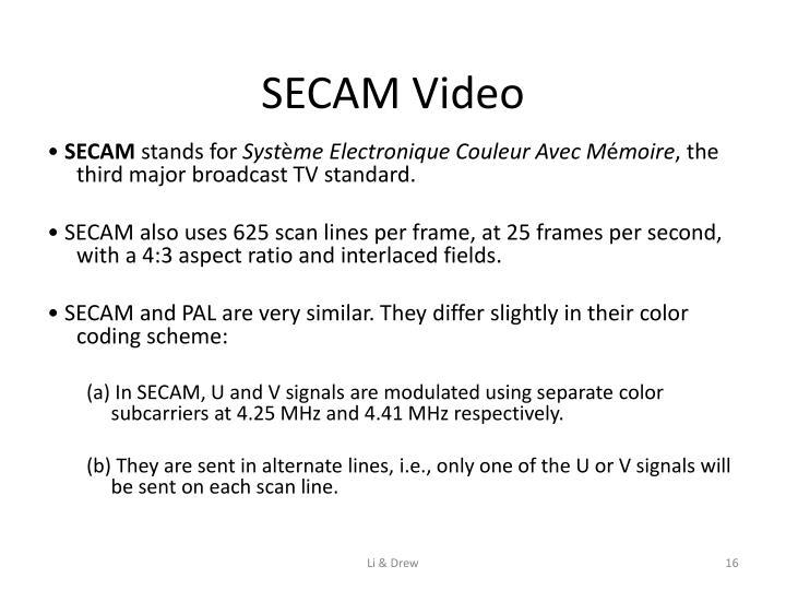 SECAM Video