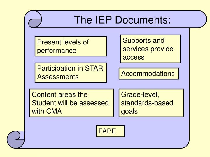 The IEP Documents: