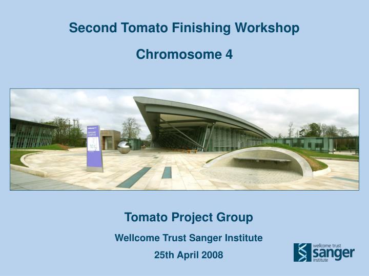 Second Tomato Finishing Workshop