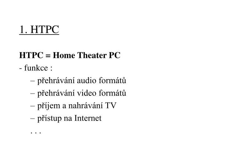 1. HTPC