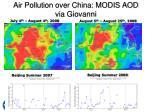 air pollution over china modis aod via giovanni