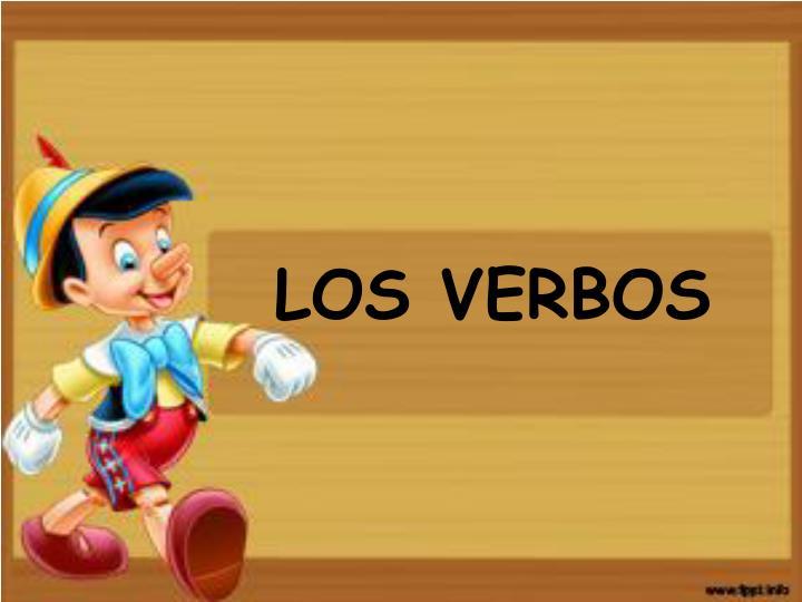 LOS VERBOS