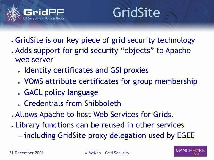 GridSite