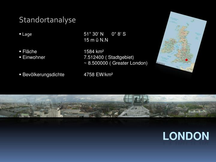 Standortanalyse