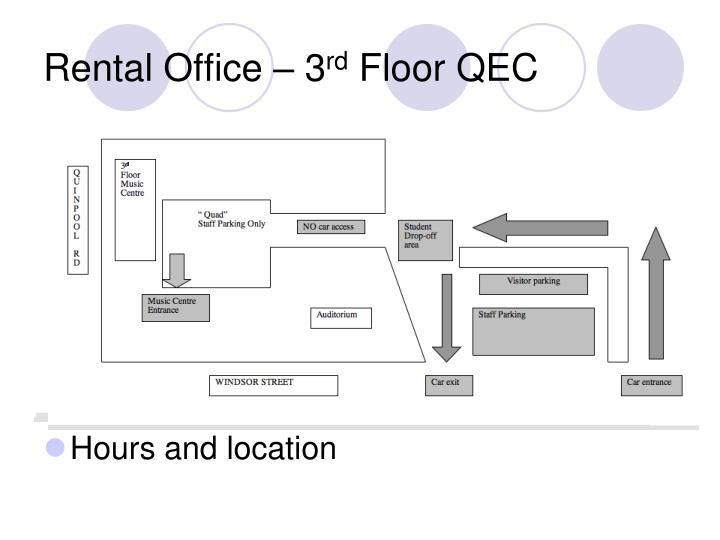 Rental Office – 3
