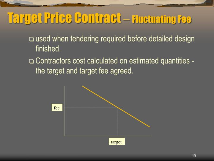Target Price Contract