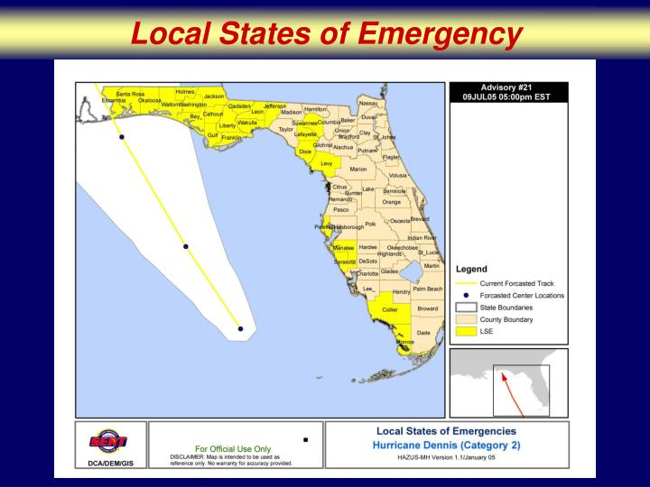 Local States of Emergency