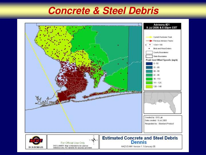 Concrete & Steel Debris