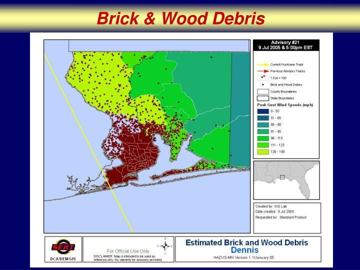 Brick & Wood Debris