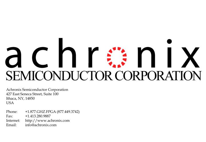 Achronix Semiconductor Corporation
