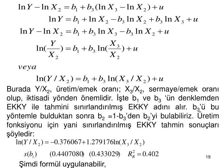 Burada Y/X
