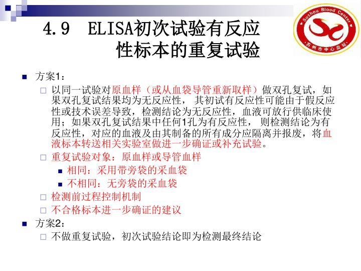 4.9  ELISA