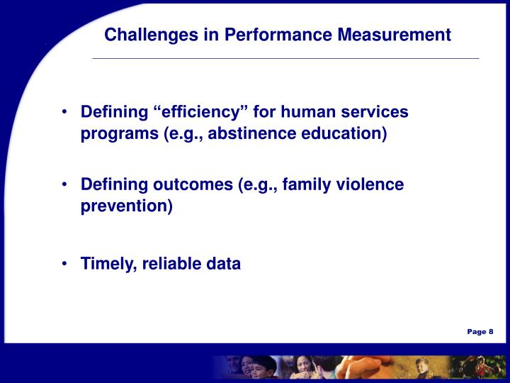 Challenges in Performance Measurement