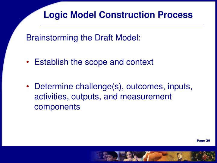 Logic Model Construction Process