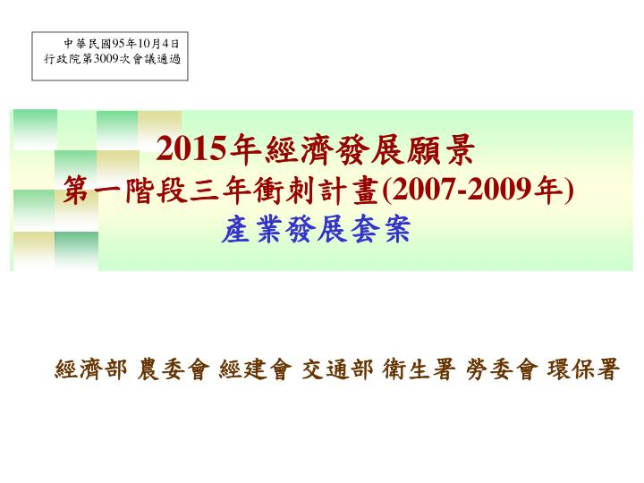 2015 2007 2009