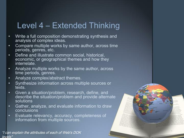 Level 4 – Extended Thinking