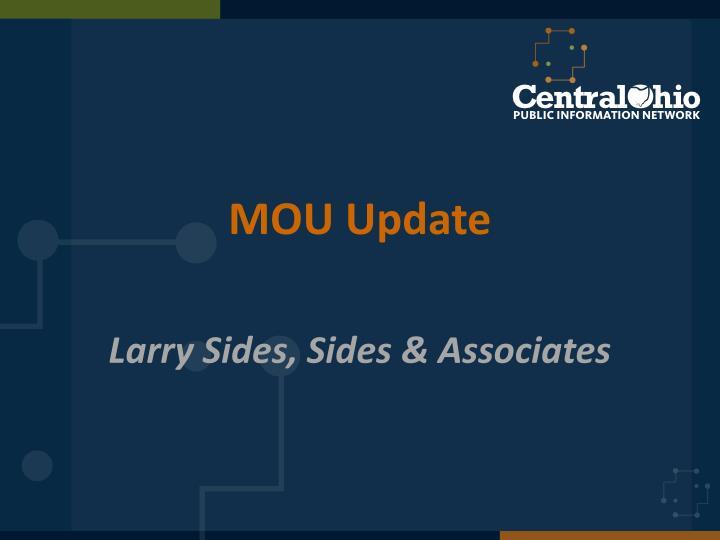 MOU Update