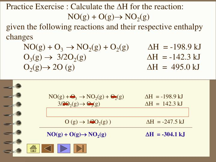 Practice Exercise : Calculate the