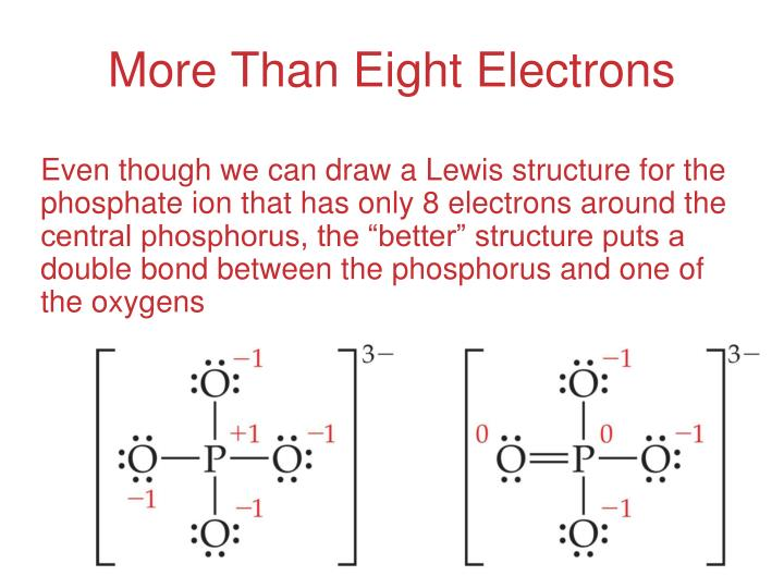 More Than Eight Electrons