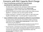 concerns with ruc capacity short charge1