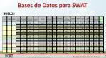 bases de datos para swat1