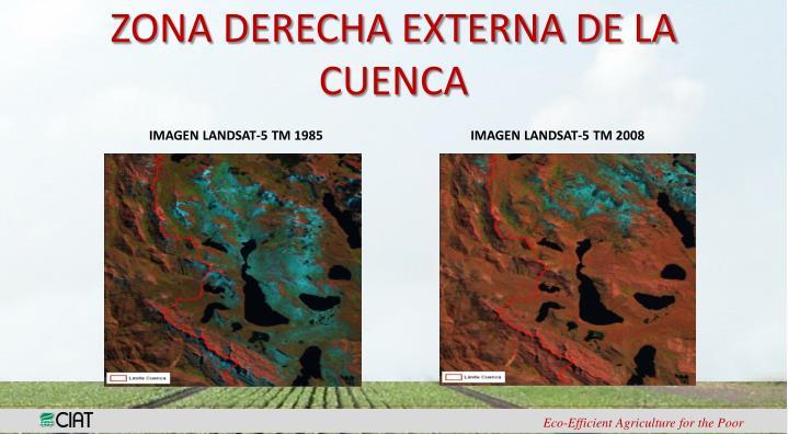 ZONA DERECHA EXTERNA DE LA CUENCA