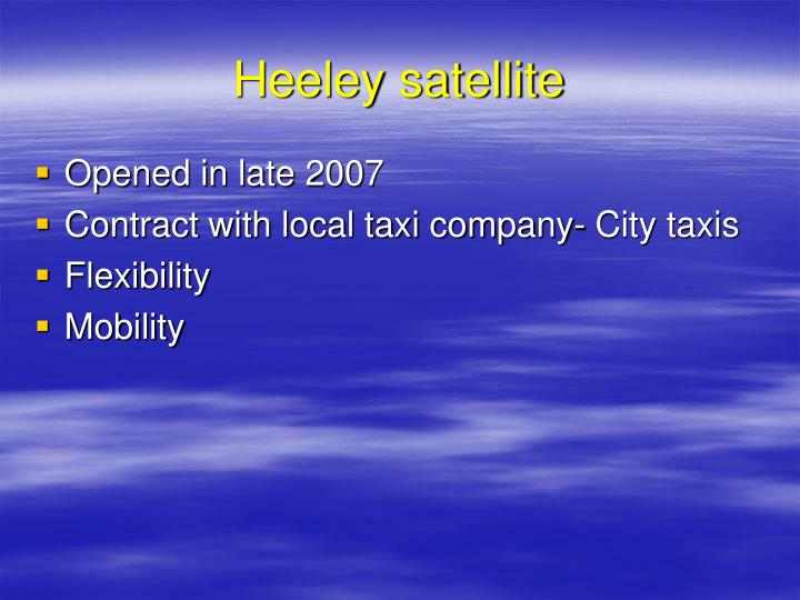 Heeley satellite