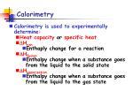 calorimetry2